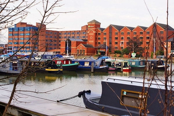 Brayford Waterfront in Lincoln