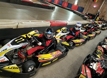 Gridline Racing Indoor Karting in Lincoln